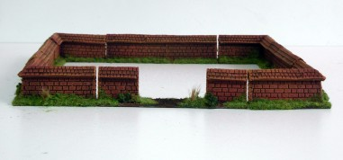 Walls - resin - 28 mm