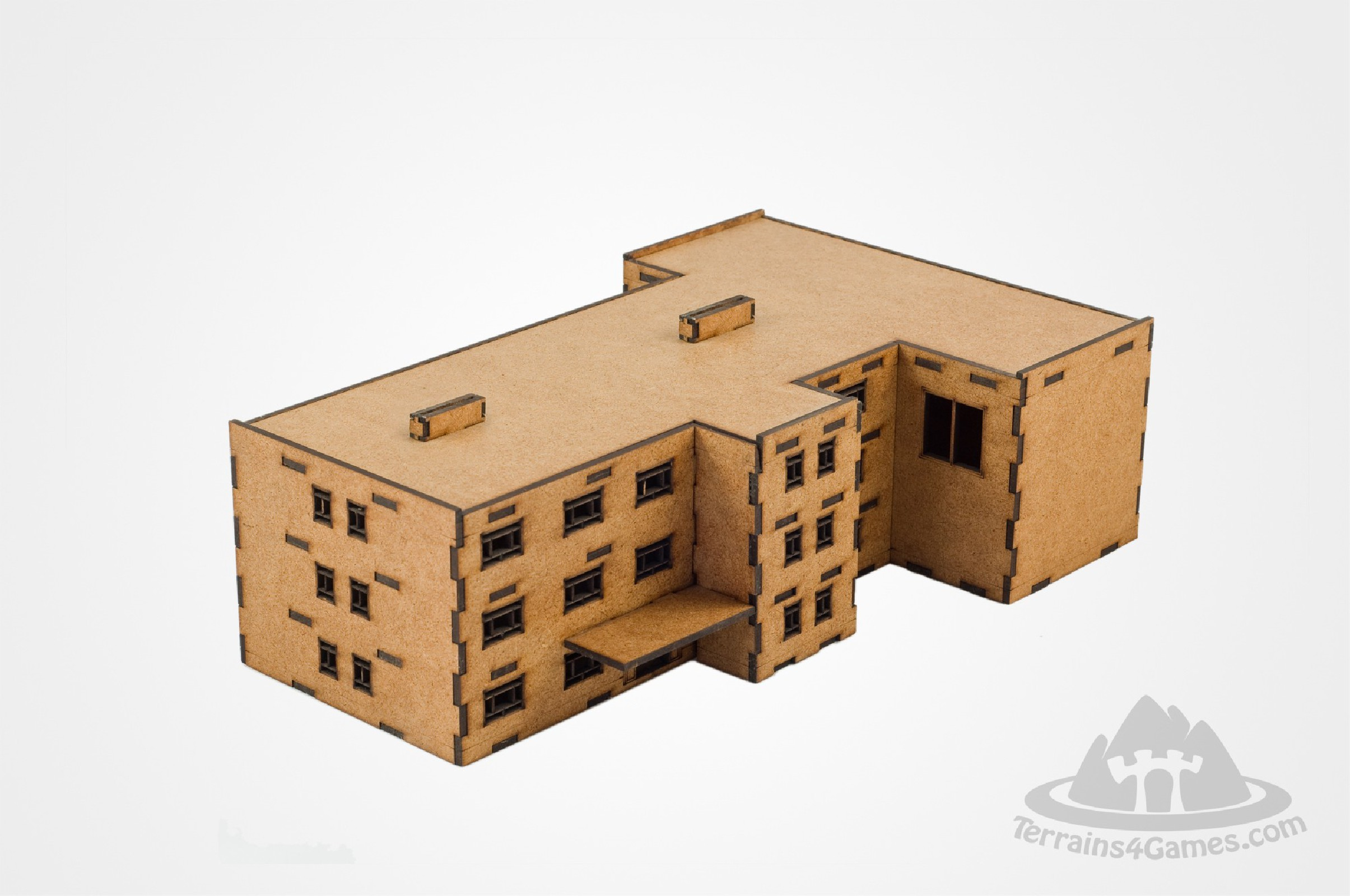 School with a gym 15mm