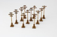 Telegraph poles - 12 pieces