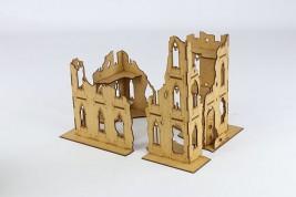 Gothic Ruin V - 4 pieces