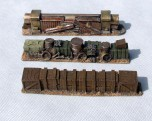 Barricades Set - 3 pieces - resin