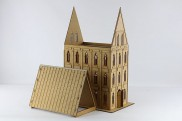 Gothic Building upgrade set II (sloping roof)