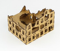 Ruined CORNER TOWNHOUSE 15 mm