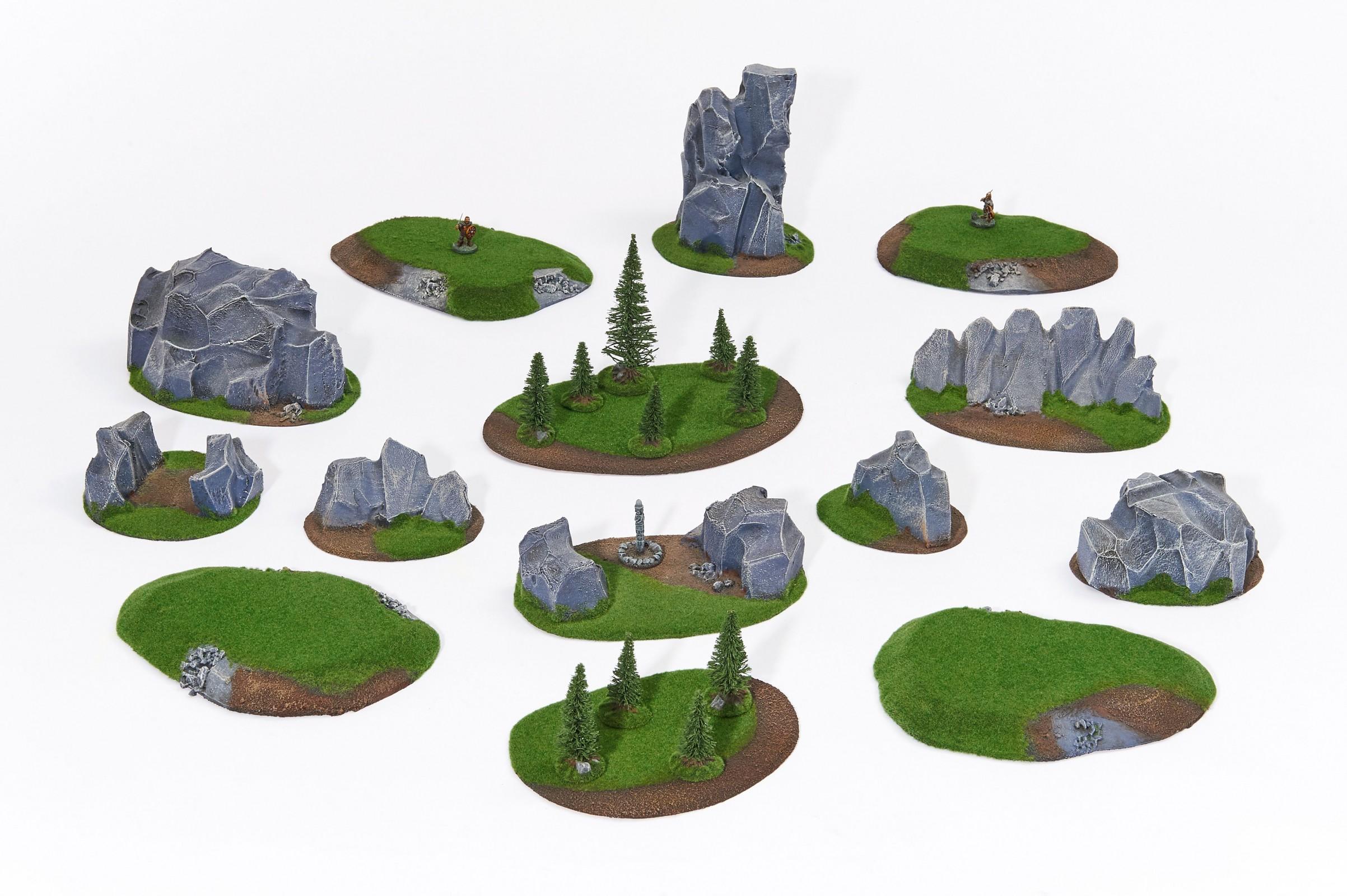 LARGE Standard Battlefield Set - 15 elements
