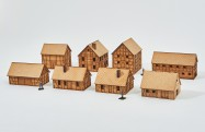 LArge Village - 20mm - Set 7