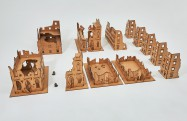 Ruined City 28mm I - Set 8