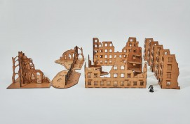 Bombed City 28mm - Set 11