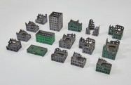 Pre-painted Large City 15mm - Set 13