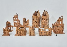 Ruined Gothic City 28mm - Set 14