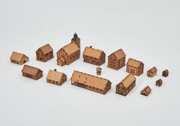 Prototype Village 15mm - Set 15