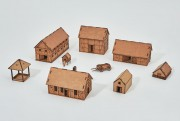 Prototype Village II - 28mm - Set 16