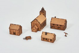 Prototype Village III - 28mm - Set 17