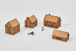 Prototype Village V - 15mm - Set 20