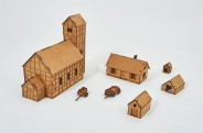 Prototype Village VIII - 28mm - Set 25