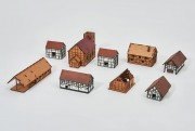 Village Set - 15mm - Set 21