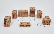 Laser cut City I 15mm - Set 28