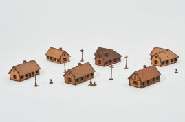 Country houses  15mm - Set 29