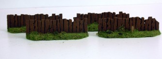 Wooden Fences I