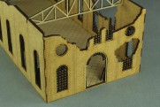 RUINED LARGE FACTORY 28mm 2nd generation