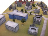 Painted 15mm East Europe City
