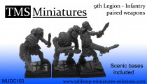 UNIT (25) - 9th Legion infantry skeletons paired weapons