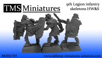UNIT (25) - 9th Legion infantry skeletons HW&S