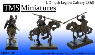 UNIT (10) - 9th Legion Skeleton Cavlary Spear & Shield