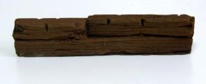 Wooden Barricades - 28 mm