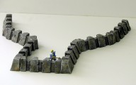 Heavy Shield Walls - 28 mm