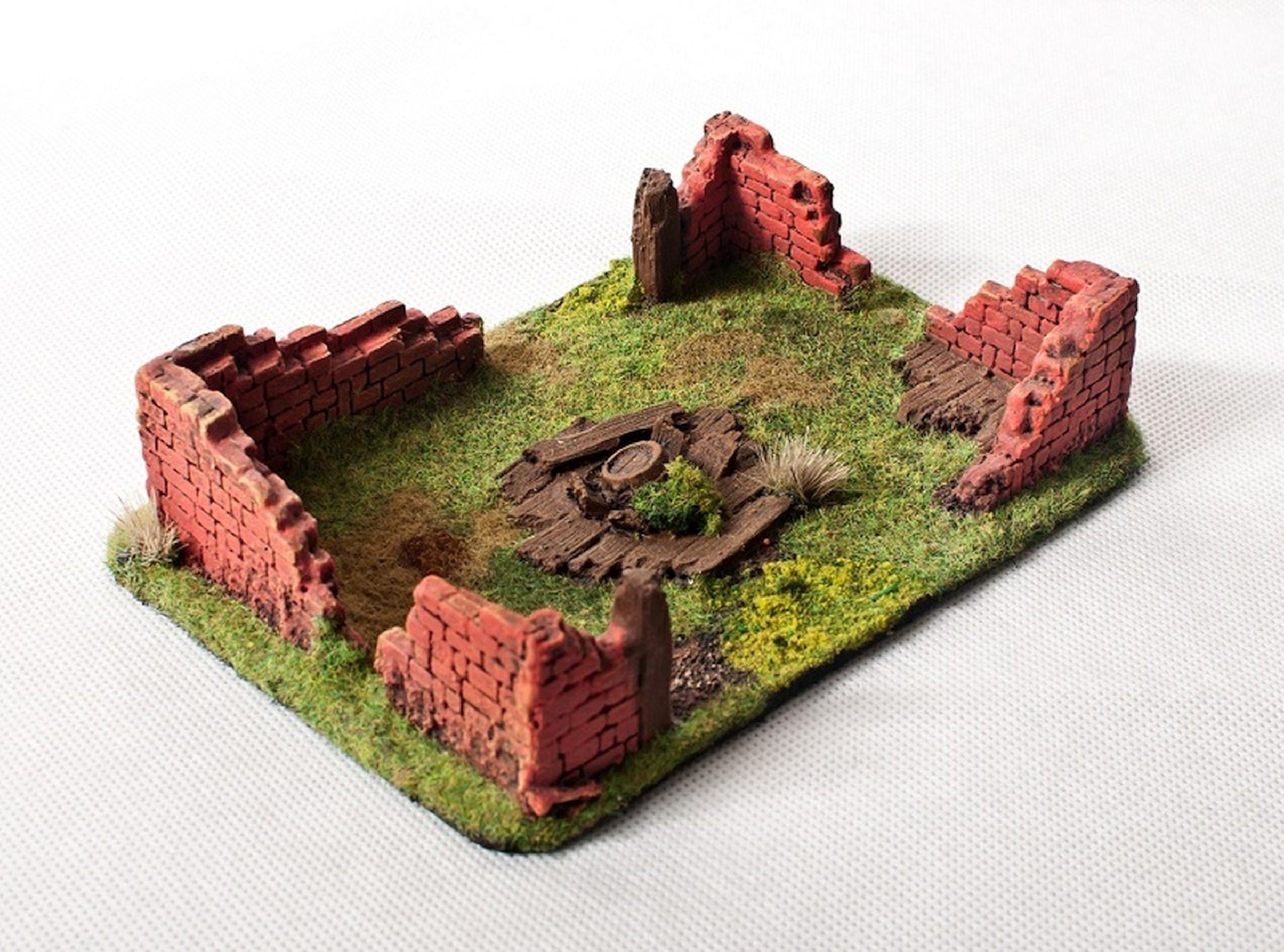 Ruined House I 28mm painted