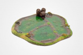 SWAMP 15mm painted with water effect