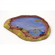 LAKE 15mm painted with water effect