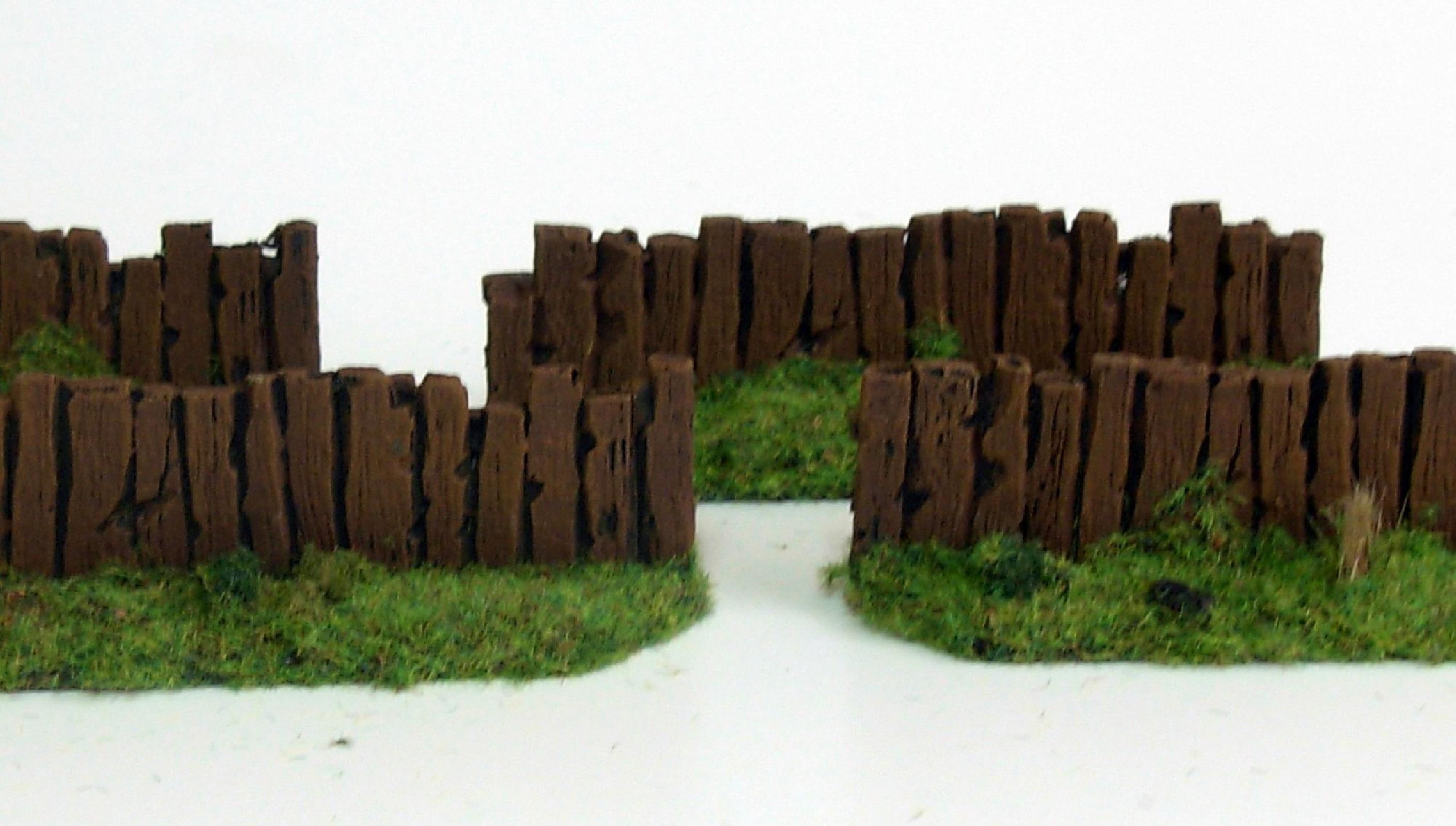 Wooden Fences I