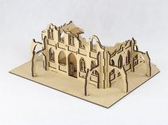 Gothic City Ruin E - laser cut