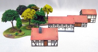 Terrains set for 15mm game