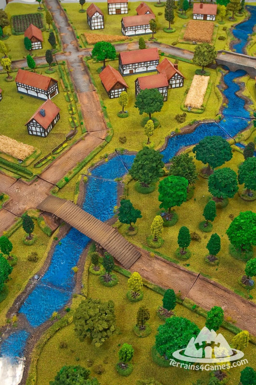 Mega Terrains set with battlemate - 222 elements!