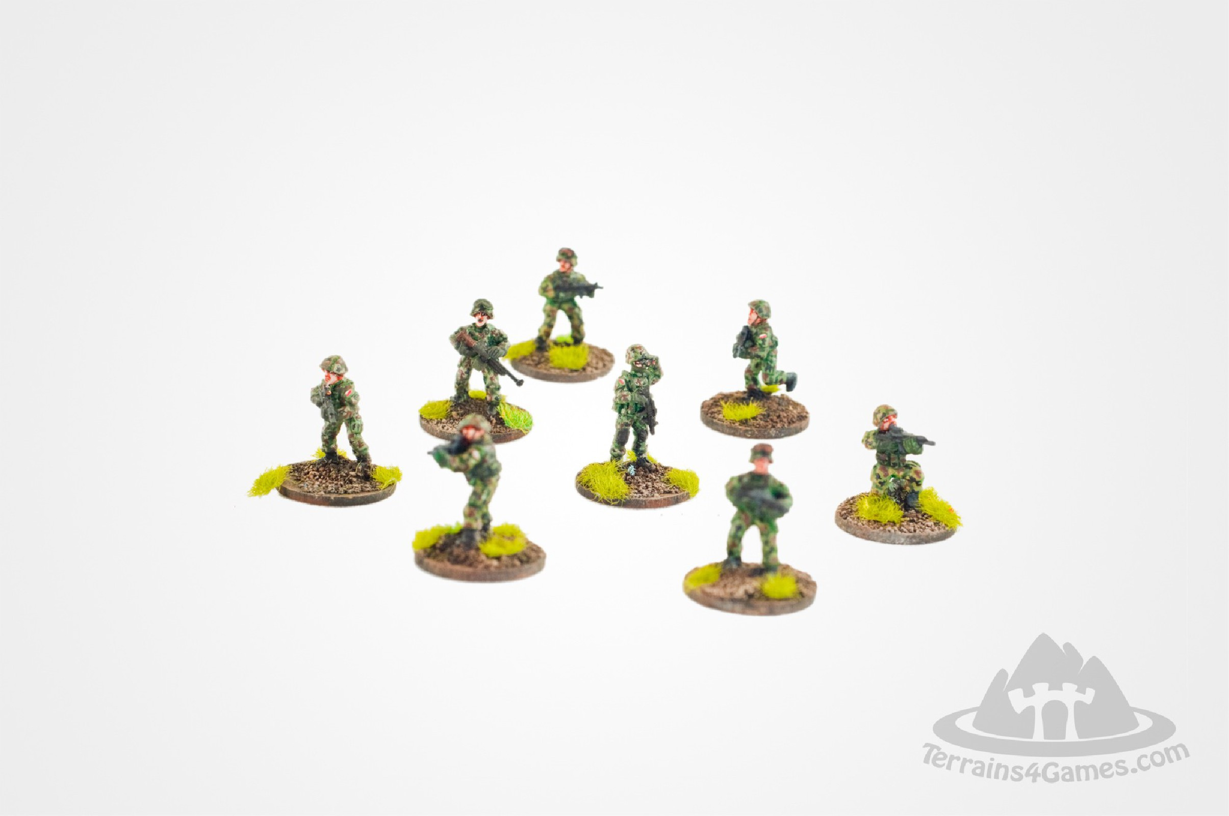 Polish Modern Soldiers (6) 15mm