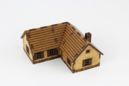 Cottage Corner House II 15mm