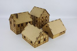 Laser cut VILLAGE II 28 mm