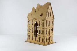 Gothic Ruin VI - sloping roof