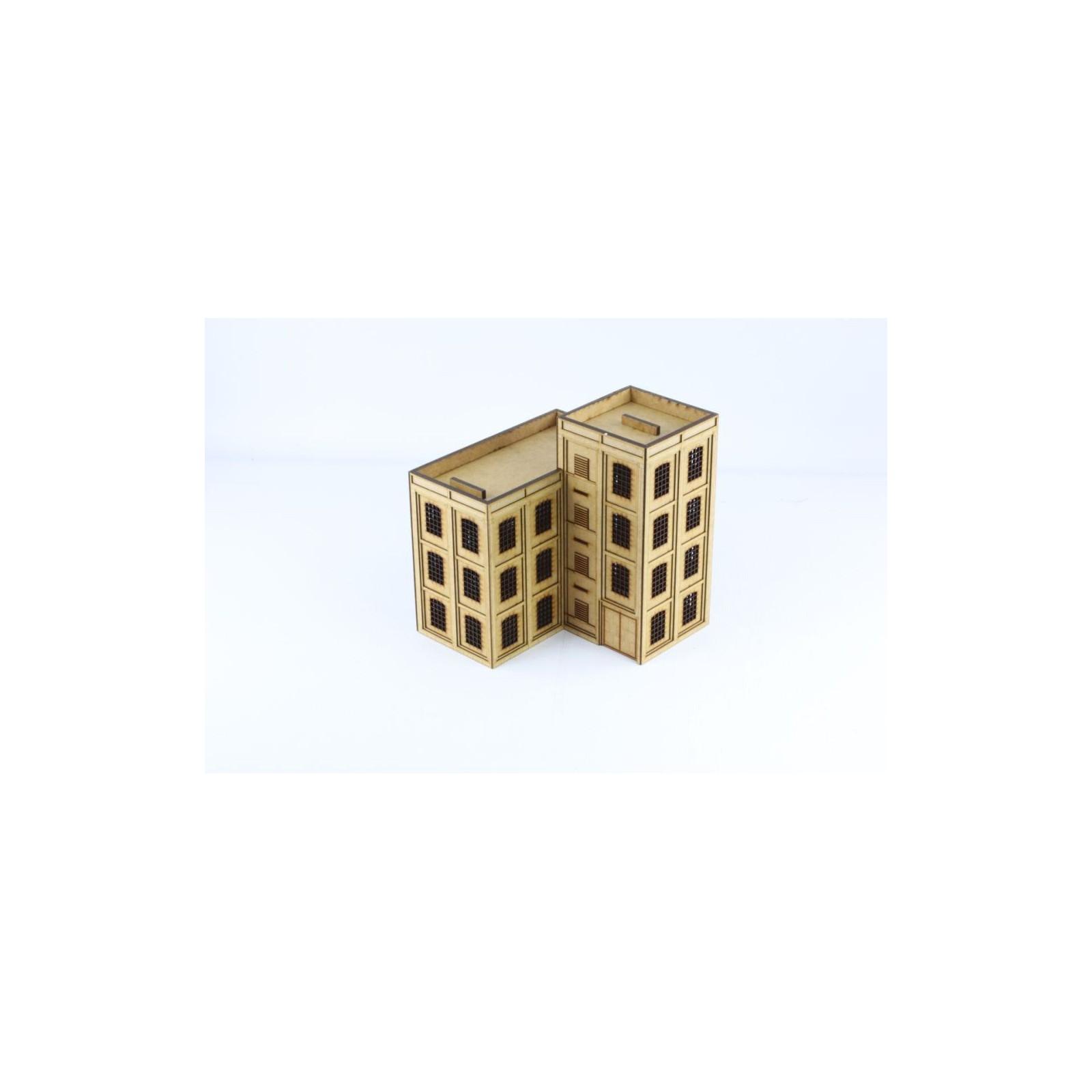 Large corner factory building J002
