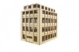 Large factory building 15mm