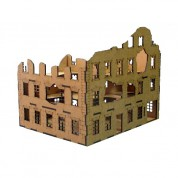 Ruined Corner Townhouse 28mm