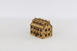 House with sloping roof 15 mm J009