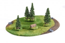 Medium Coniferous Forest  - 4 trees