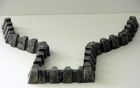 Heavy Shield Walls - 28 mm unpainted