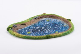 LAKE 28mm painted