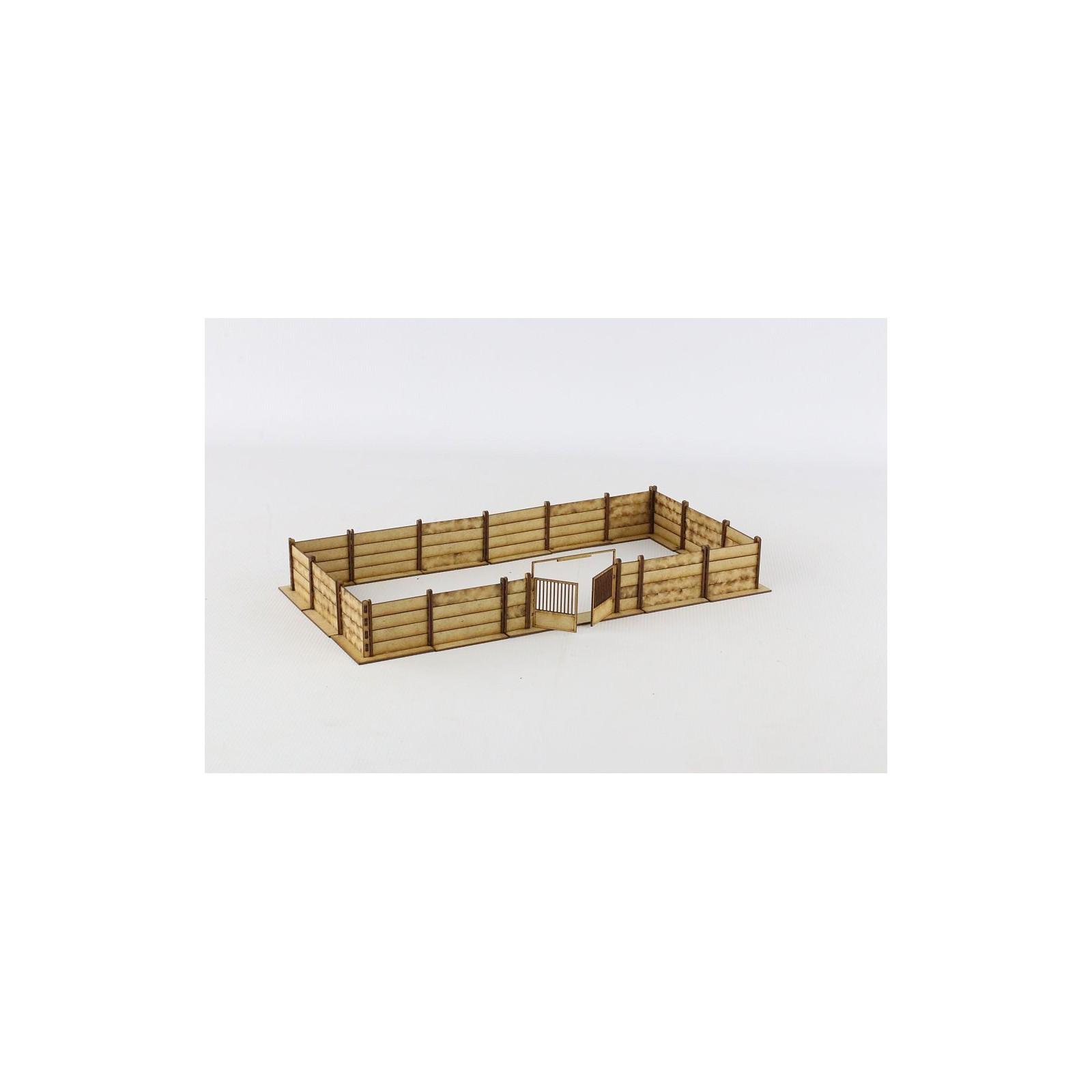 Concrete wall with wire anchors 28mm