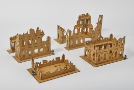 Small GOTHIC RUINS Set 28mm