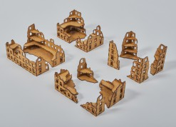 Laser Cut Large RUINS Set - 15mm